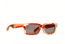 A,Bespoke,Pair,Of,Sunglasses,,Made,Out,Of,A,Recycled